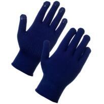 Superthermal Gloves – PVC Dot - Blue