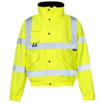 HiVis Breathable 2 in 1 Bomber Jacket - Yellow