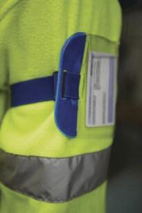 Security ID Armband - Yellow