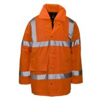 HiVis Economy GO/RT Parka Jacket - Orange