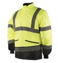 HiVis Sioen Malbro Interactive Bomber Jacket - Yellow