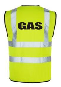 HiVis GAS Vest - Yellow