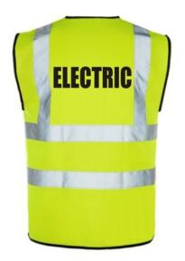 Hi Vis ELECTRIC Vest - Yellow