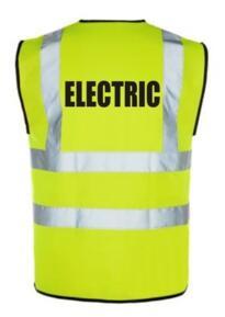 HiVis ELECTRIC Vest - Yellow