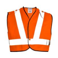 HiVis GO/RT Mini Tracker Rail Vest - Orange