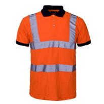 HiVis GO/RT Polo Shirt - Orange