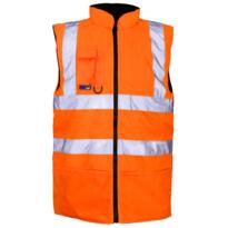 ST HiVis GO/RT Reversible Bodywarmer - Orange