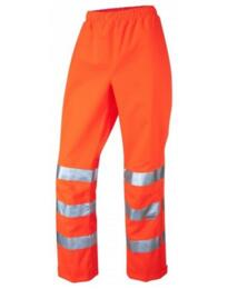 HiVis GO/RT Ladies Breathable Over Trousers - Orange