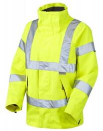 HiVis Ladies Breathable Parka Jacket - Yellow