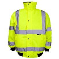 HiVis Childrens Bomber Jacket - Yellow