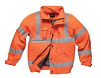 HiVis GO/RT Dickies Bomber Jacket - Orange