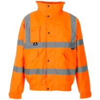 HiVis GO/RT Breathable 2 in 1 Bomber Jacket - Orange