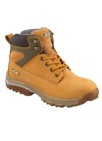 JCB F/TRACK Waterproof Work Boot - Honey