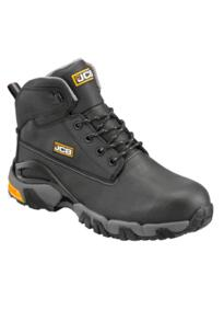 JCB 4X4/T Waterproof Work Boot - Black