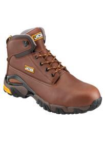 JCB 4X4/T Waterproof Work Boot - Brown