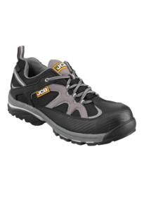 JCB TRAKLOW/GB Non-Metallic Trainer - Black/Grey