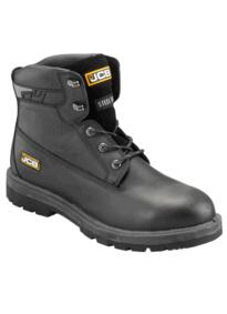 "JCB PROTECT/H Waterproof 6"" Safety Boot - Black"