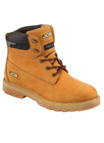 "JCB PROTECT/H Waterproof 6"" Safety Boot - Honey"