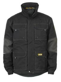 JCB Clayton Jacket - Black/Grey