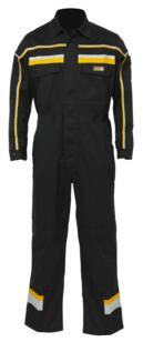 JCB Hollington Coverall - Black