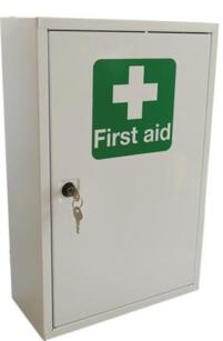 Metal First Aid Cabinet - Small