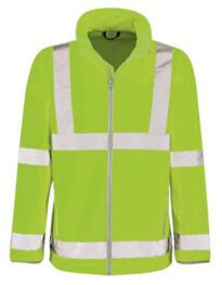 Hivis Soft Shell Jacket - Yellow