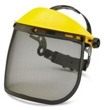 """B-Brand Steel Mesh Visor 7.5"""" - Yellow"""