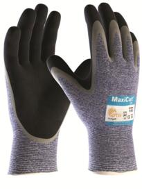 ATG MaxiCut Oil Glove - Palm coated Knitwrist Cut 5