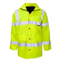 Hivis Economy Parka Jacket - Yellow