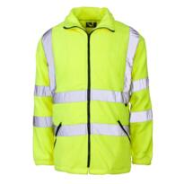 Hi Vis Fleece Jacket - Yellow