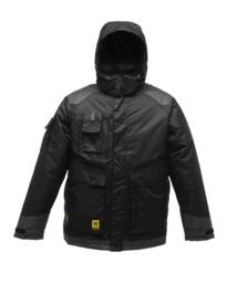 Regatta Density Parka Jacket - Black/Iron