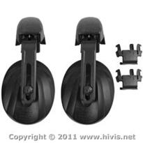 Clearance JSP Helmet Mounted Ear Defenders  - suits MkII
