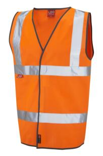 HiVis EN533 Flame Retardant Vest - Orange