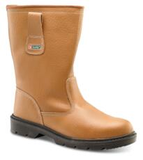 Click Economy Safety Rigger Boot - Tan
