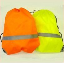 High Visibility Draw String Bag - Yellow