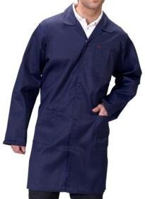 Click Warehouse Coat - Navy Blue