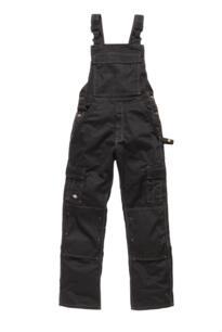 Dickies Industry 300 Bib & Brace - Black / Black