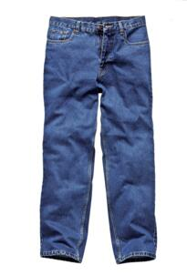 Dickies Stonewashed Work Jeans - Blue