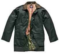 Dickies WX11102 Westfield Wax Jacket - Bottle Green