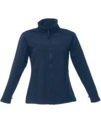 Regatta Women's Uproar Softshell Jacket - Navy Blue