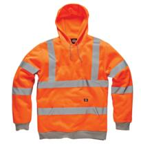 HiVis GO/RT Dickies Hooded Sweatshirt - Orange