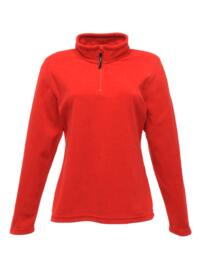 Regatta Women's Micro Zip Neck Fleece - Red