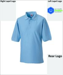 Penalyn Classic Poly/Cotton Polo [Embroidered] - Sky Blue