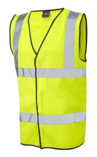 Leo HiVis Vest 5XL and 6XL - Yellow
