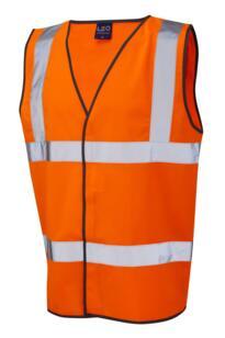 HiVis Vest 5XL and 6XL - Orange