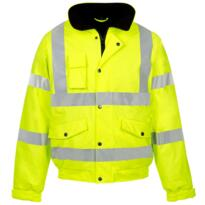 ST HiVis PU Storm-Flex Bomber Jacket - Yellow