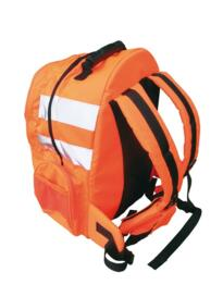 HiVis GO/RT Quick Release Rucksack - Orange - Quick Release