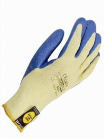 Kevlar fibre Rock gloves - Yellow / Blue