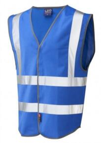 HiVis Coloured Vests - Royal Blue