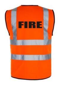HiVis FIRE Vest - Orange